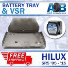 Battery Tray & VSR for Toyota Hilux SR & SR5 2005-2015 stainless