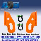 Recovery Tow Points Kit 2100TK for Toyota LandCruiser 80 100 105